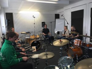 Mein Workshop beim Drummer Meeting im Drummers Institut.